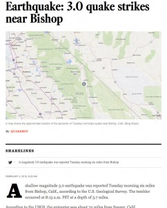 Nice looking earthquake article there, robot.