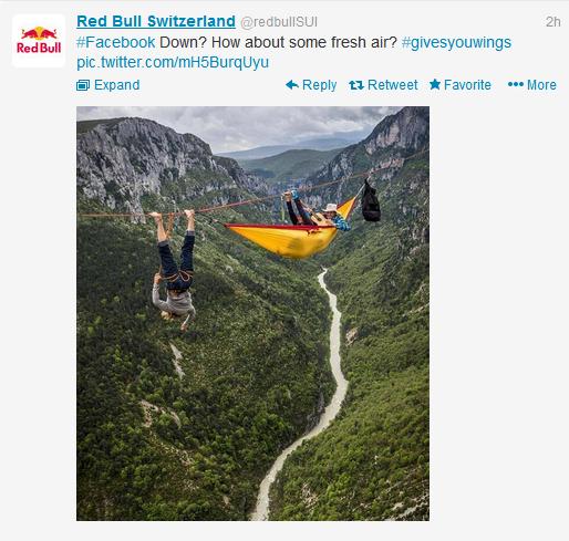 Snabbt och smart agerat av Red Bull i Schweiz
